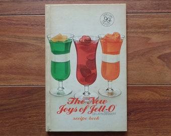 Hardcover-The New Joys of Jell-O Gelatin Dessert Recipe Book