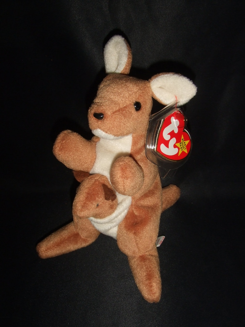 be466d56cd3 Pouch the Kangaroo Beanie Babies Original 4161
