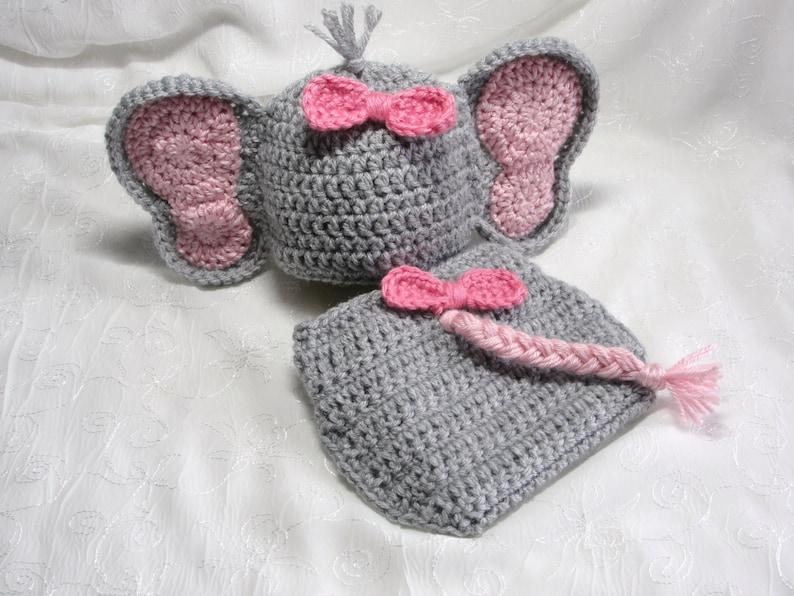 Picture of Darling Elephant Photo Prop Set Crochet Pattern ... | 596x794