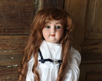 """Armand Marseille Composition & Bisque Doll, 26"""" Tall, Marked, 390"""