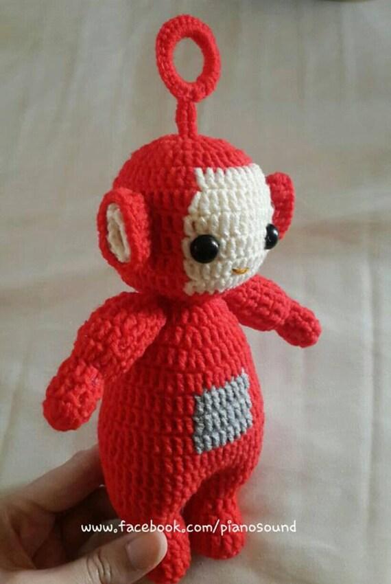Teletubby Po Crochet Amigurumi Pattern Etsy