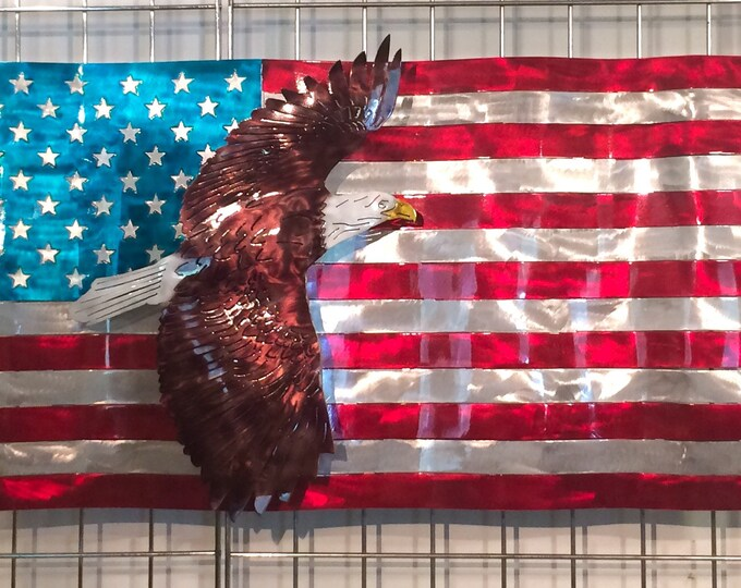 Featured listing image: American Flag With Eagle