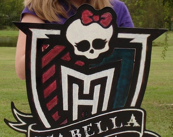 Monster High Name Plaque