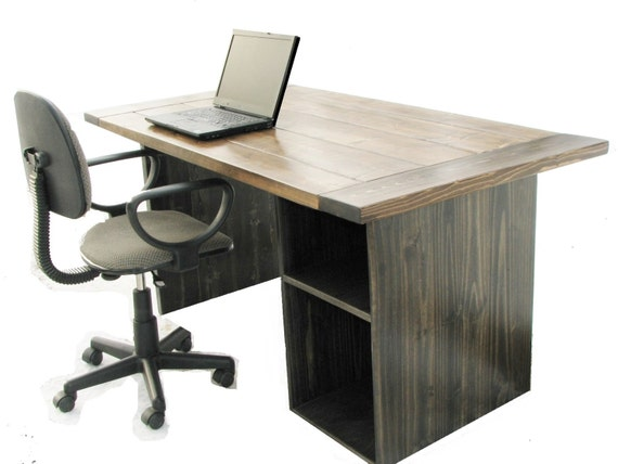 Computer Desk High Quality Farmhouse Barnwood Office Desk Etsy
