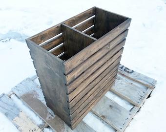 Laundry Hamper, Basket, Rustic, Modern, Crate, Finished or Unfinished