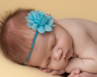 Blue Baby Headbands, Blue Baby Headband, Blue Newborn Headbands, Blue Headbands, Headbands Blue, Baby Headbands, Newborn Headbands