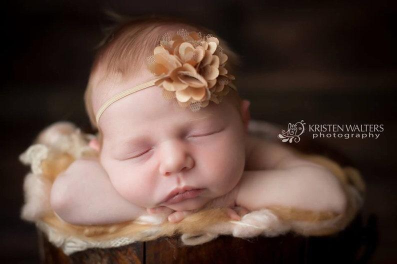 Newborn Headbands Gold Baby Headband Gold Headbands Baby Headband Headbands Gold Baby Girl Headbands