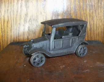 Items Similar To Vintage Cast Iron Or Lead Car Automobile