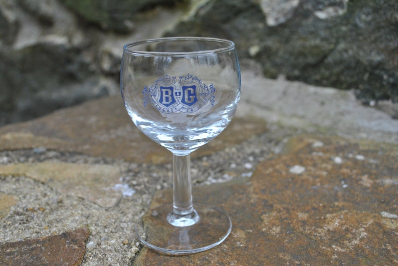 France B /& G Fondee Cordial Glass Small Wine