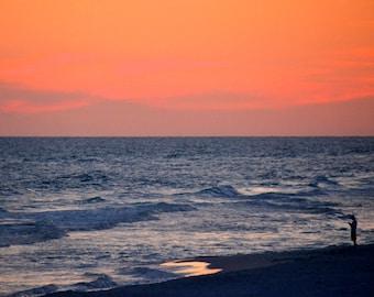 Travel Photography-Solitude At Seaside, Florida -Ocean, Beach and Fine Art Photography-Beach Decor