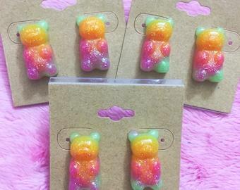 Fruity Gummy Bear Earrings