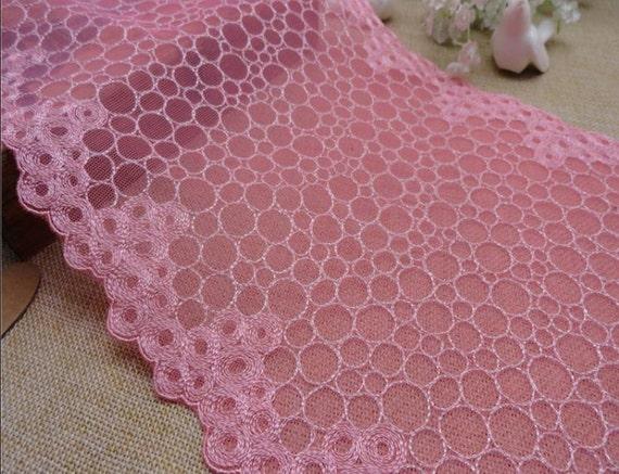 Delicate Embroidery Floral Decor Voile Applique Detachable Collar Lace