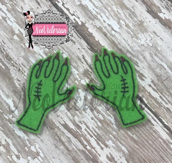 Creepy hands Set of 2 Frankenstein Zombie Halloween