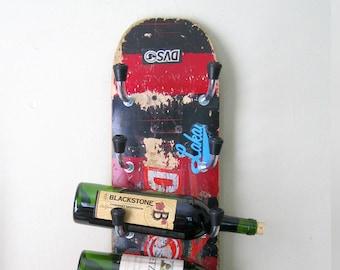 Skateboard Wine Rack DIY Instructions (PDF)