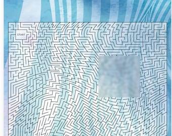 Crazy Twist Maze!