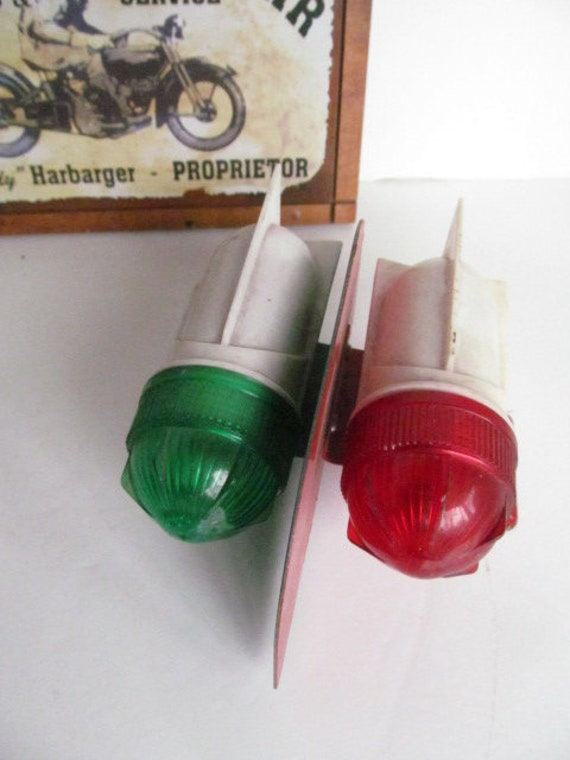 Vintage bicycle Tail Lights bullet