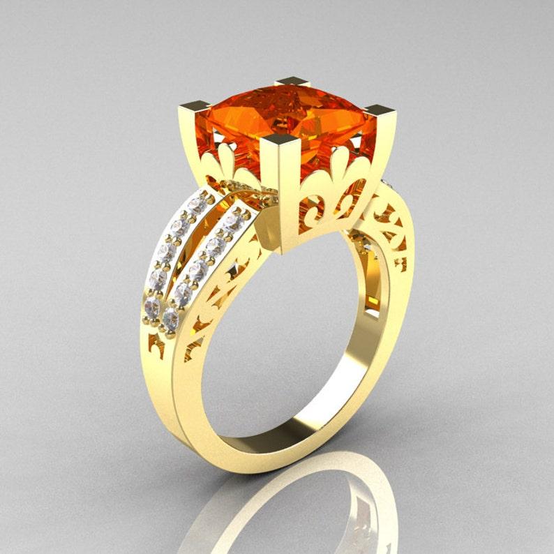 14k Oro Blanco Corte Pera Anillo Solitario Diamante De Compromiso Montaje Attractive And Durable Other Fine Jewelry Sets