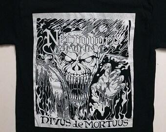 e1aec06aa16 NECROVORE T shirt of Demo era art old school Black Death Metal Demo for  fans of Sarcofago Morbid Angel Possessed Profanatica Immolation Von