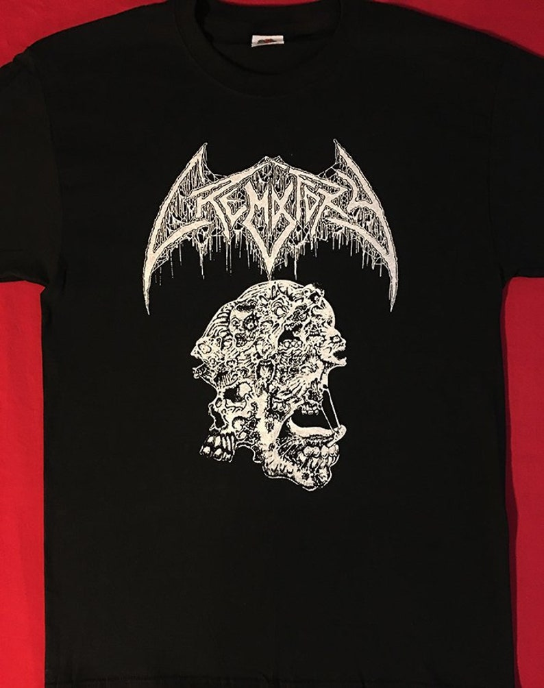 CREMATORY T shirt Wrath From The Unknown Death Metal Gorement Dismember S XL