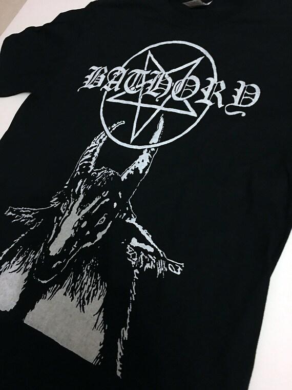 Bathory Long Sleeve venom darkthrone slayer celtic frost black metal mayhem punk