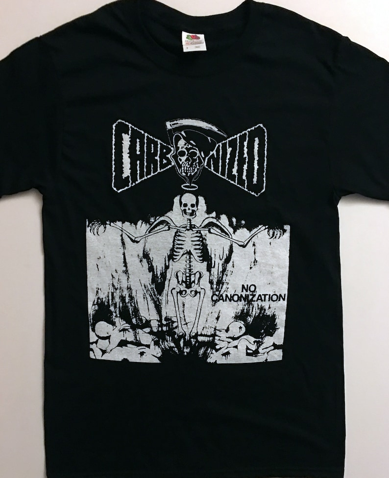 3d7f4cbbbe68 CARBONIZED T SHIRT Swedish Death Metal for fans of NIHILIST   Etsy