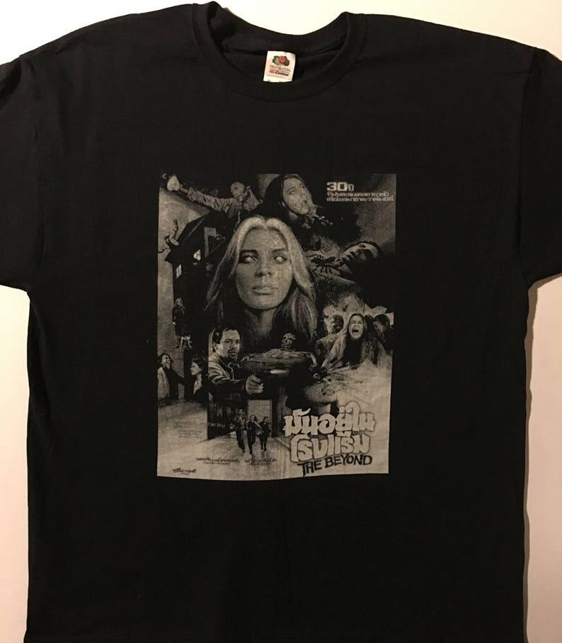 bbffba81d90 Beyond T shirt with Thai poster Artwork Lucio Fulci Mens