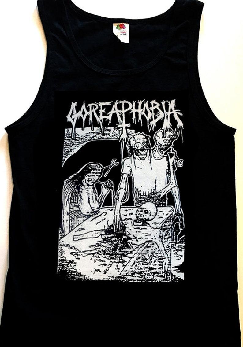 CARCASS Tank top T SHIRT Death metal Goregrind Grindcore Napalm Terrorizer S XL