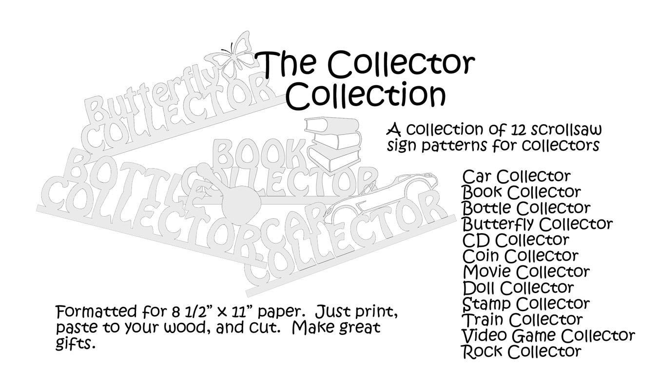 Scrollsaw Collector Sign Pattern Ebook Scroll Saw Diagram Zoom