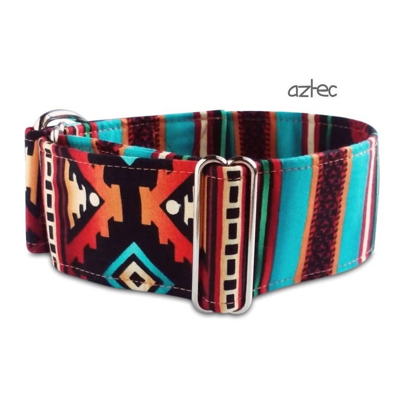 fdbc0f346ed2c7 Tribal dog collar aztec southwest boy dog collar aztec dog