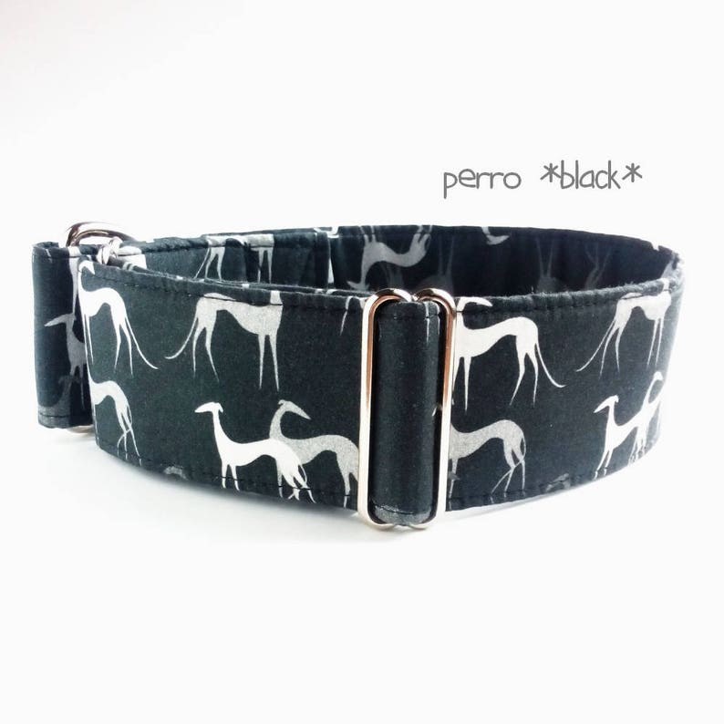 Martingale greyhound collar adjustable whippet Italian Greyhound 1.2/'/'