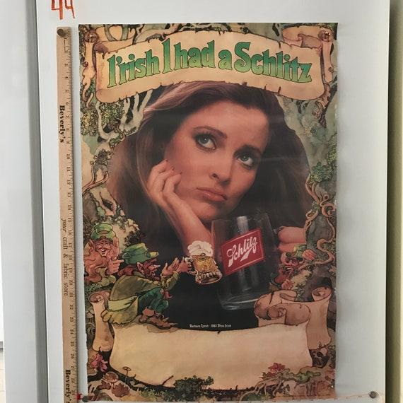 2 Vintage Plastic 1980s Schlitz Malt Liquor Bull Beer Advertising Pin New NOS