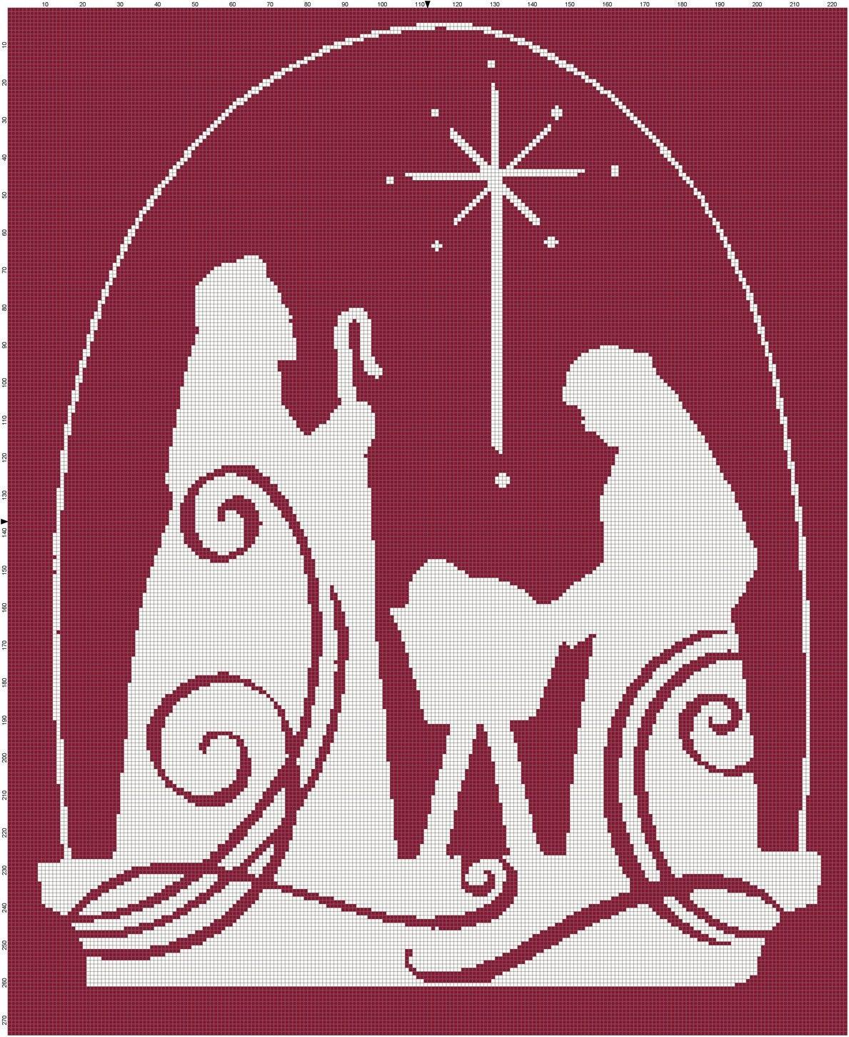 Nativity Scene Patterns Amazing Design
