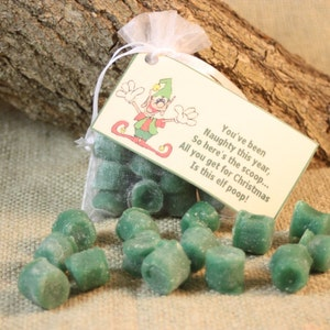 Scented Wax Melts Great Stocking Stuffer for the Naughty Person on Your List Black Coal Candle Coal Poem Coal Candle Wax Tarts