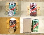 Mountain Dew Candle, You Choose the Scent You Want in This Upcycled Soda Can, Great Gift for Mt Dew Lover, Mountain Dew Scent
