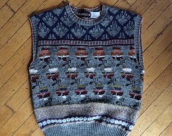 Sweater Vest Women Etsy