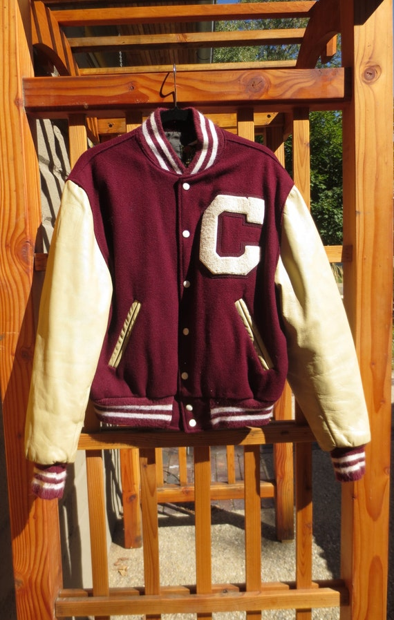 Vintage Reed Sportswear Letterman Jacket Wool with