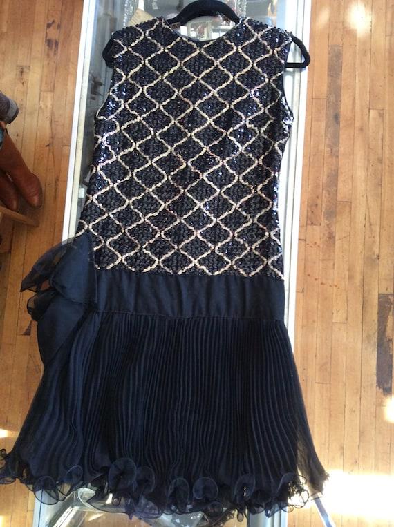 Vintage Drop-waist 60's dress