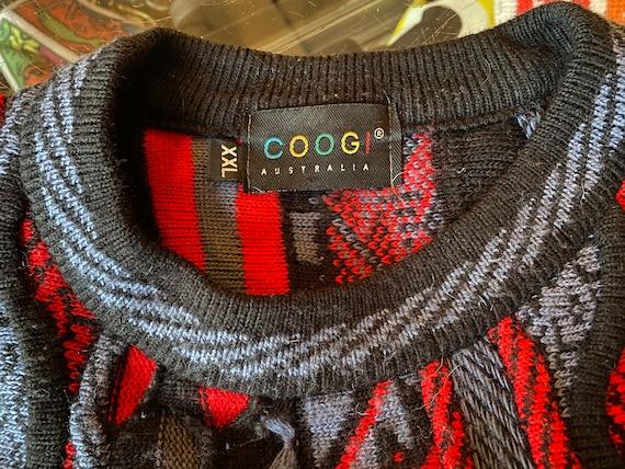 80's Vintage Coogi Australia Textured Knit Sweater