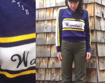 Vintage Sweater    Cheerleading Sweater    Pullover Sweater 7d76c8af5