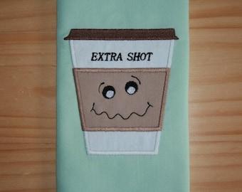 Coffee-Extra Shot Applique Design