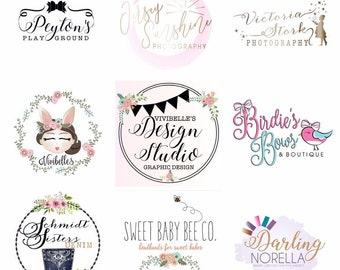 Custom Logo Design, logo design, photography logo, business logo design, small shop logo, custom logo