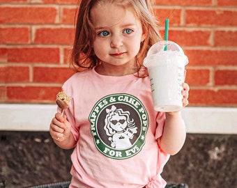 Cake pop t, cake pop shirt, Coffee tee, mommy coffee date tee, cake pop tee, kids coffee shirt, kids cake pop tee,Toddler Short Sleeve Tee