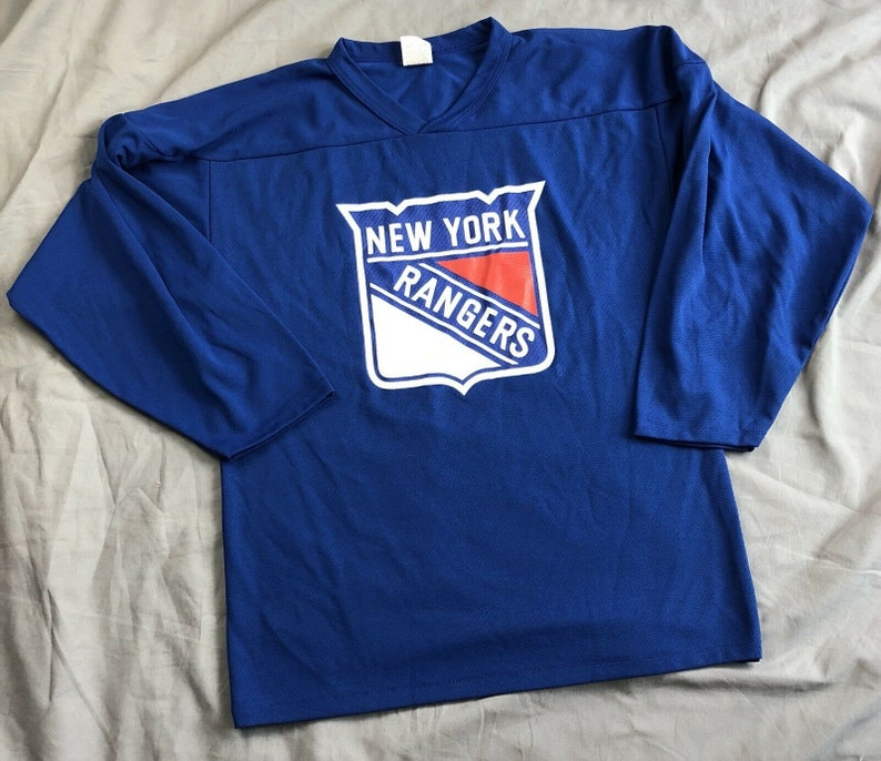 best service 07d60 43ad1 Vintage New York Rangers Hockey Jersey Small Audi Athletic Knit Made in  Canada S