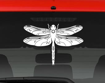 Dragonfly sticker, decal, your choice of color