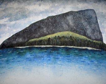 Mt. Kineo on Moosehead Lake, Maine