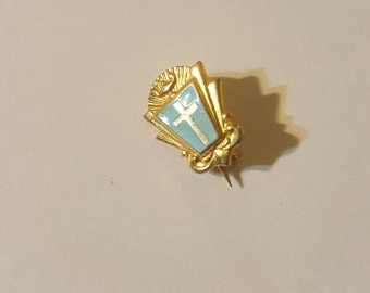 Vintage Jewelry, pin Cross