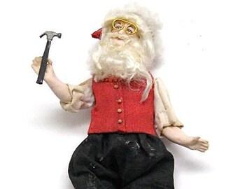 a9eacd63ba8 Miniature Santa Claus Doll