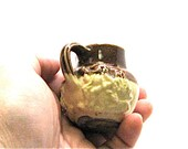 Miniature Pottery, Antique, Doulton Lambeth, Salt Glaze, Stoneware, Jug, Pitcher, English, 1800 39 s