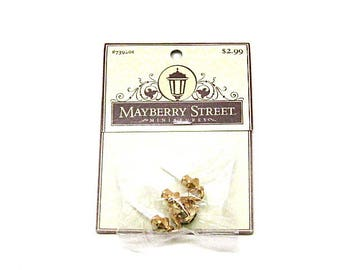 Dollhouse Candelabra sconce Light, Brass, Mayberry Street,  New Old Stock, Miniature, 1:12 Scale