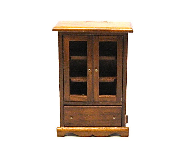 Dollhouse Curio Cabinet Liquor Cabinet Furniture Storage Etsy
